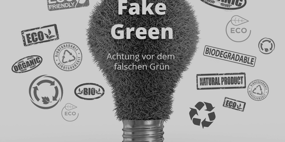 lamp with grass instead of glass in the bulb and labels connected to fake green